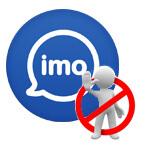 Как заблокировать и разблокировать контакт в imo